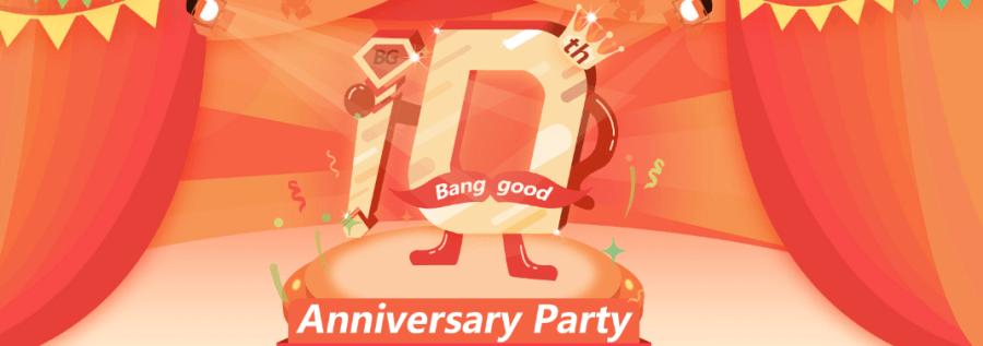 Banggood10周年記念セール