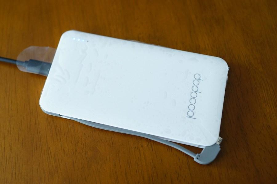 dodocool Android Apple両用 5000mAhモバイルバッテリー7