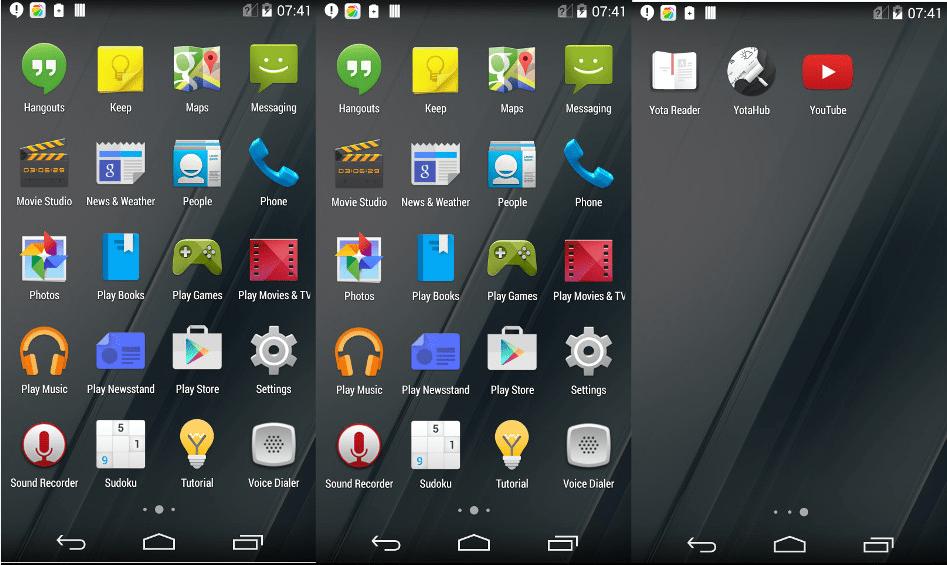 yotaphone2はGooglePLAYストア対応で日本語にも対応