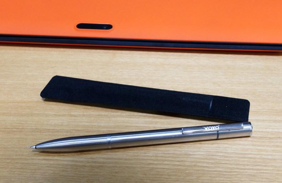 VOYO VBook V3 Ultrabook 付属のペンの説明
