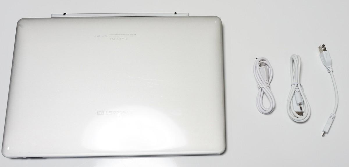 Teclast TBook 12 Pro 実機レビュー 同梱商品の説明参考画像