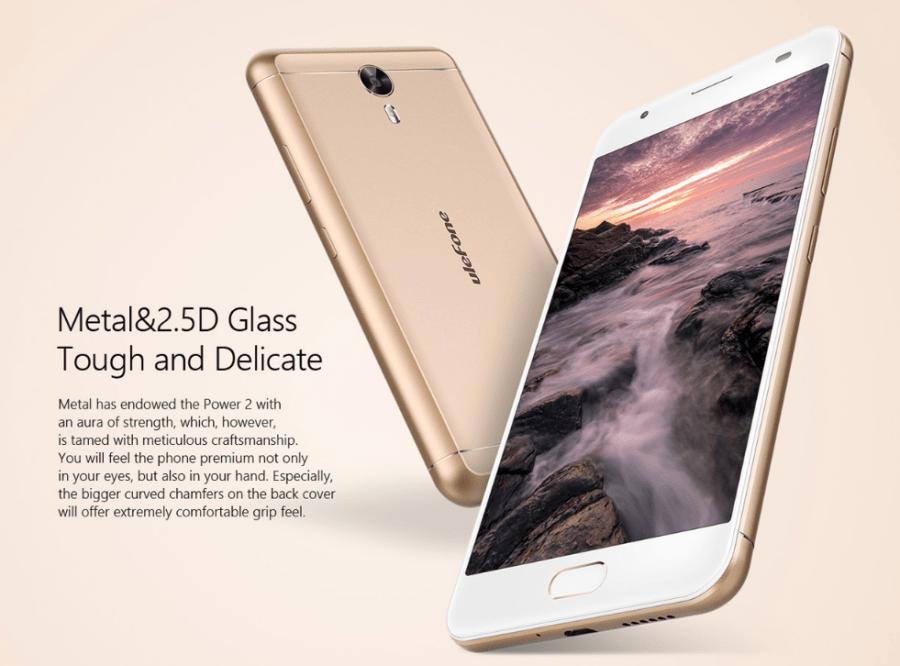 Ulefone Power 2 Android 7.0スマホが179.99ドルでプリセール中!