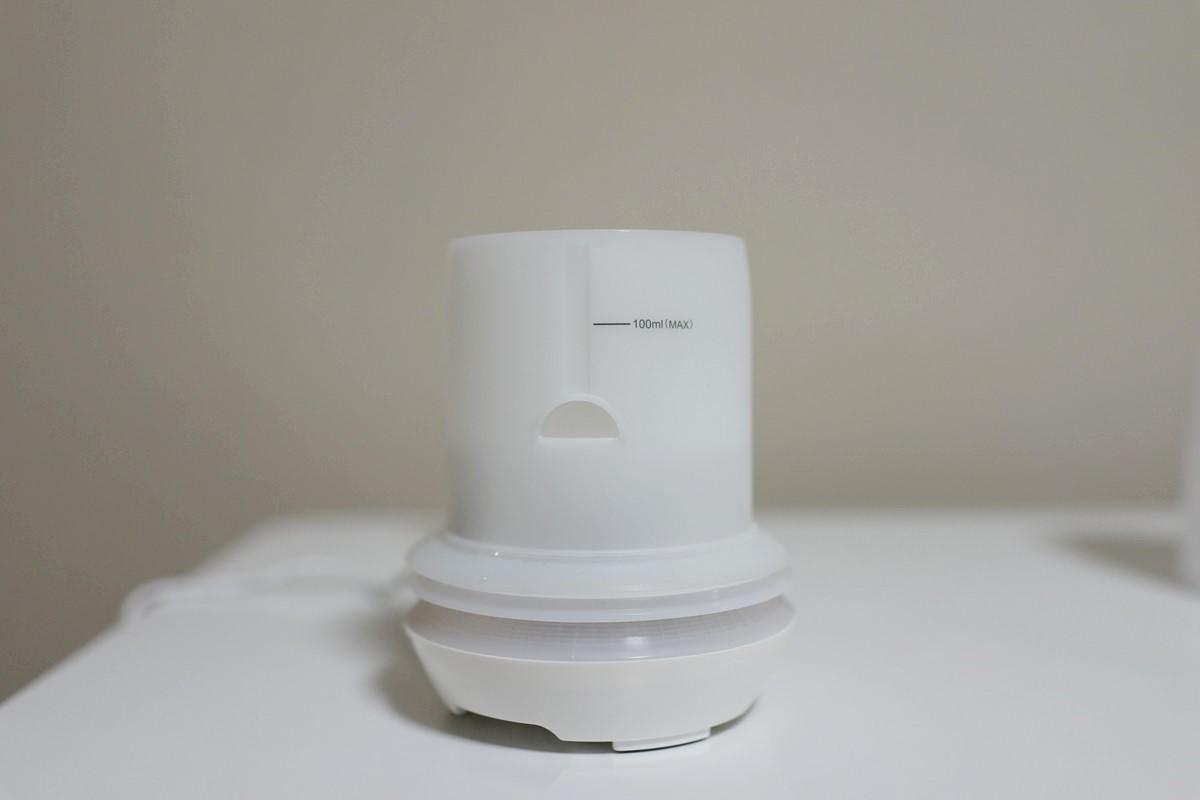 EC Technology アロマディフューザー 超音波式 卓上加湿器レビュー