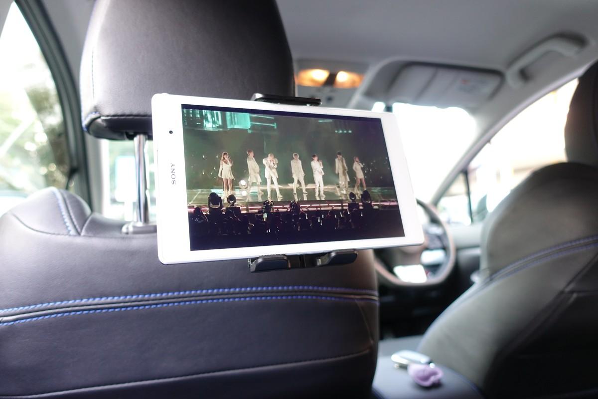 EC Technology タブレット用車載ホルダーレビュー  外観写真