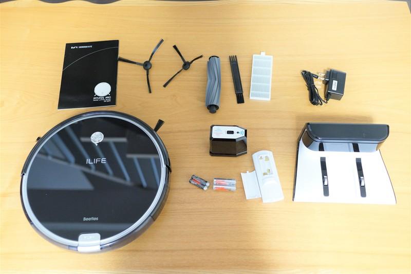 ILIFE A6 Smart Robotic Vacuum Cleaner レビュー 同梱の商品紹介参考画像