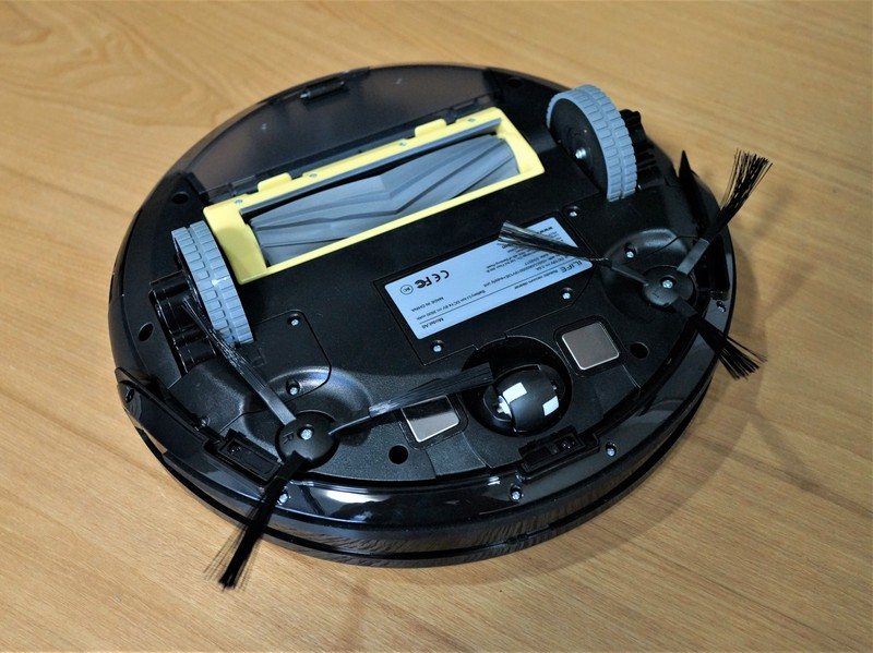 ILIFE A6 Smart Robotic Vacuum Cleaner レビュー 背面の参考画像