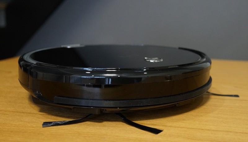 ILIFE A6 Smart Robotic Vacuum Cleaner レビュー 外観おもに高さの説明参考画像