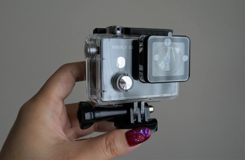HawKeye Firefly 8S 4K Sports Camera レビュー 4K動画が撮れるアクションカメラの防水性能について