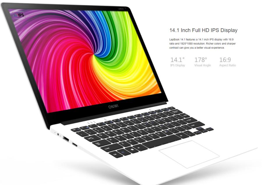 CHUWI Lapbook 14.1 外観参考画像