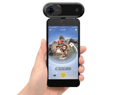 【クーポンで$206.99】iPhoneで360度映像撮影が可能なアクションカメラ