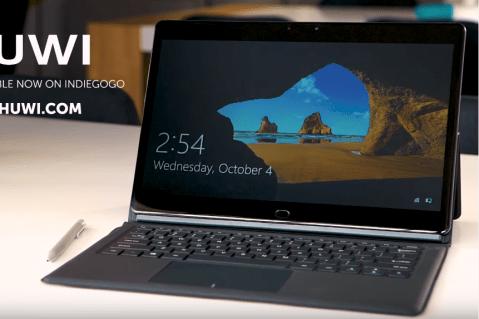 CHUWI CoreBook メモリ8GBに増量!超薄型でCore M3 7Y30搭載の13.3インチSSDタブレットPC
