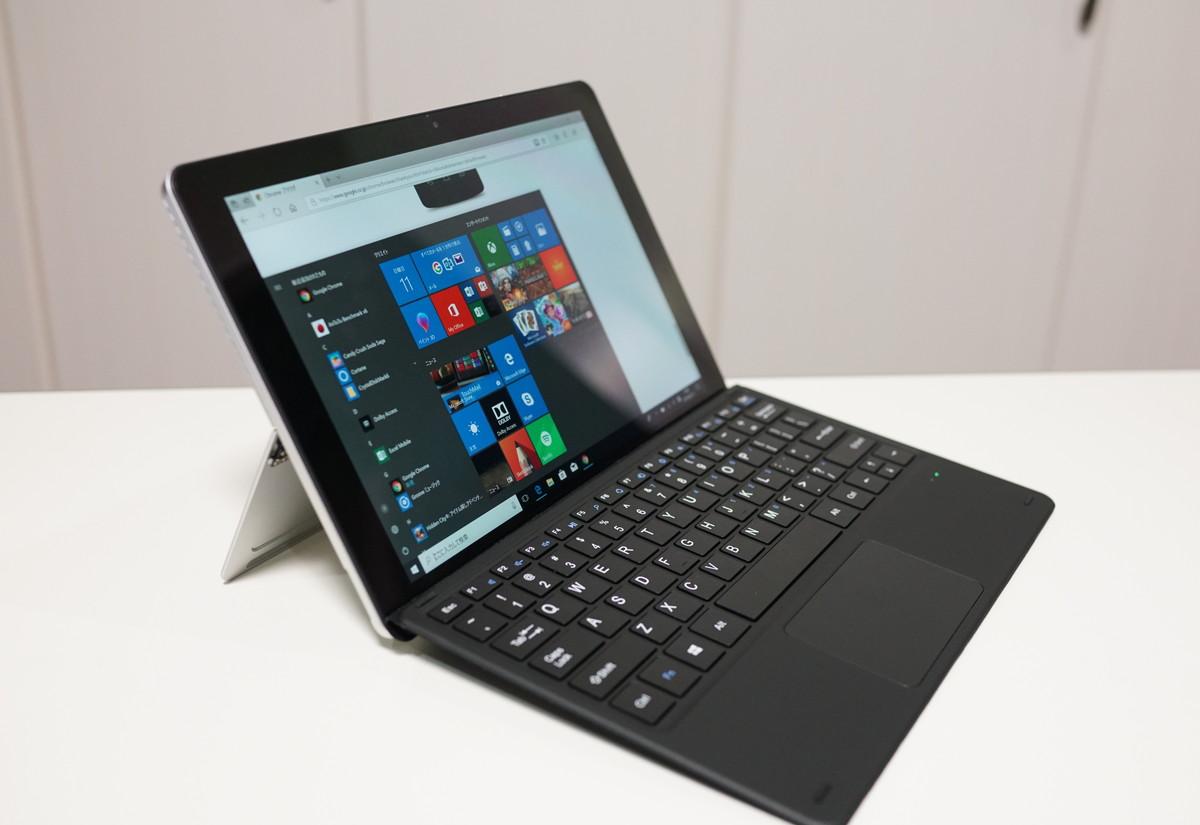 Chuwi SurBook Mini と専用キーボードの実機レビュー