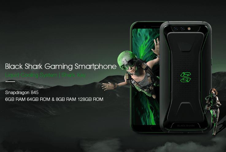 【クーポンで$489.99】Xiaomi Black Shark ゲーミングスマホ登場!