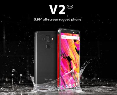 Vernee V2 Pro プレセール開始!B19対応・両面デュアルレンズカメラ・IP68タフネスボディー・NFCと機能満載で期間限定で249.99ドル!