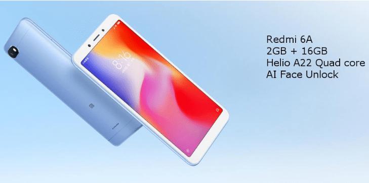 Xiaomi Redmi 6A 2GB/16GB