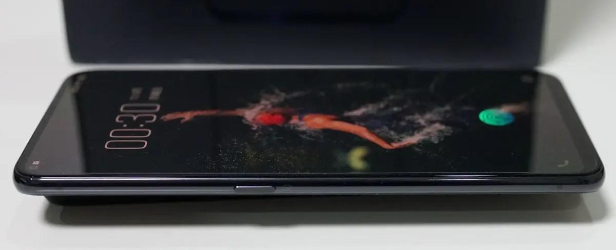 Vivo NEX Sの外観写真レビュー AIボタンの説明
