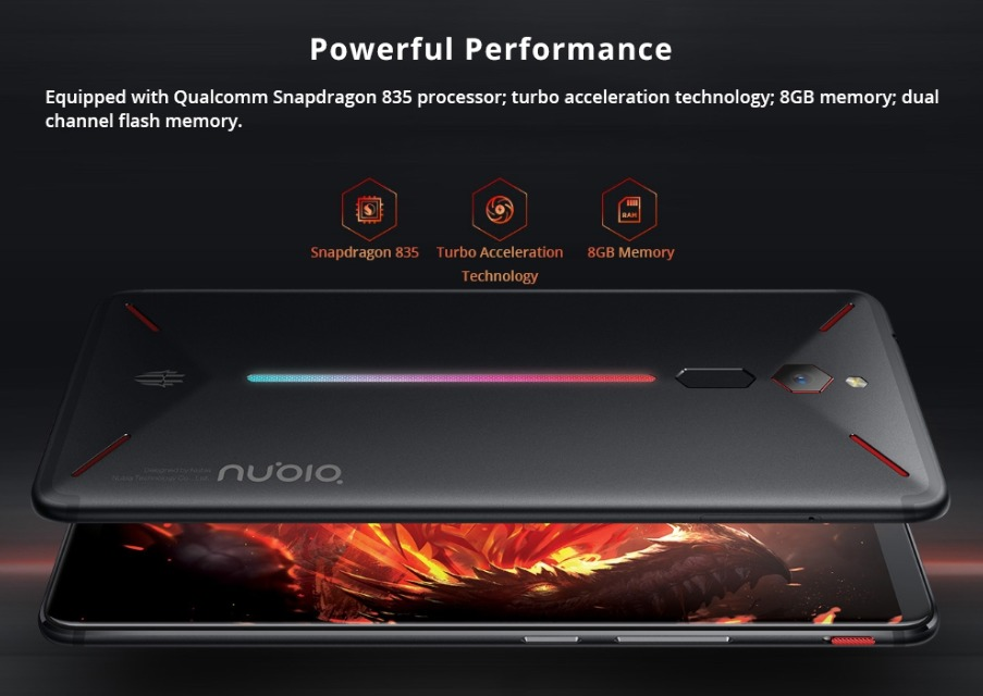 Global Version Nubia Red Magic