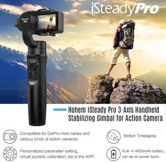 Hohem iSteady Pro アクションカメラ用3軸ジンバルが$73.99(8360円)でセール中