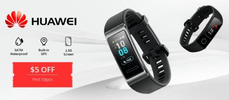 Huawei Honor Magicが$119.99、Huawei Band 4が$31.99などHuaweiのスマートウォッチが半額以下でセール中!