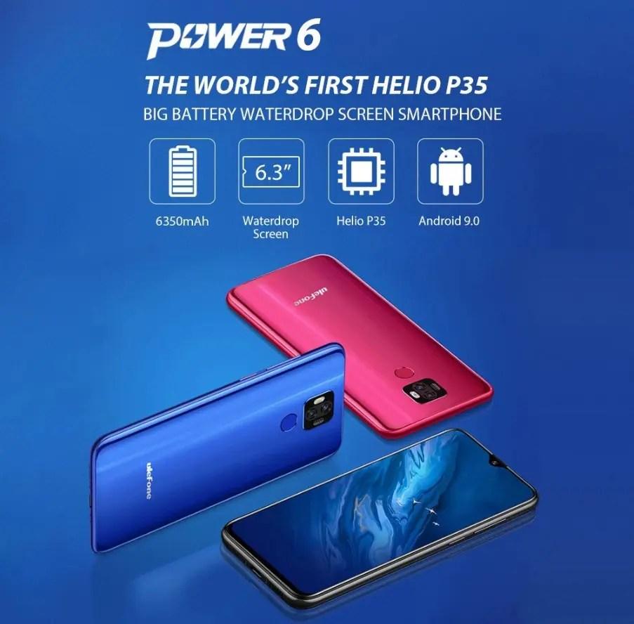 Ulefone Power 6 スペックレビュー CPU評価・割引クーポンなどまとめ