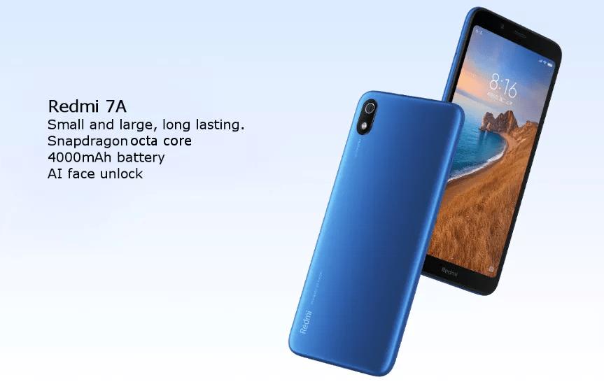 Xiaomi Redmi 7A スペックレビュー