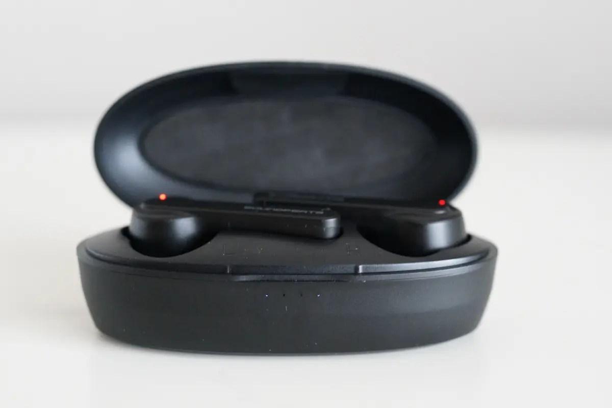 SoundPEATS(サウンドピーツ) TrueCapsule完全ワイヤレスイヤホンレビュー バッテリー残量の表示