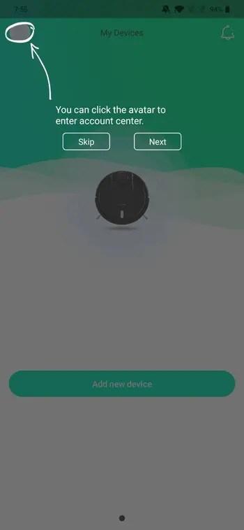 BlitzWolf® BW-VC1対応のBlitzWolf Cleanアプリについて ペアリング方法の説明参考画像