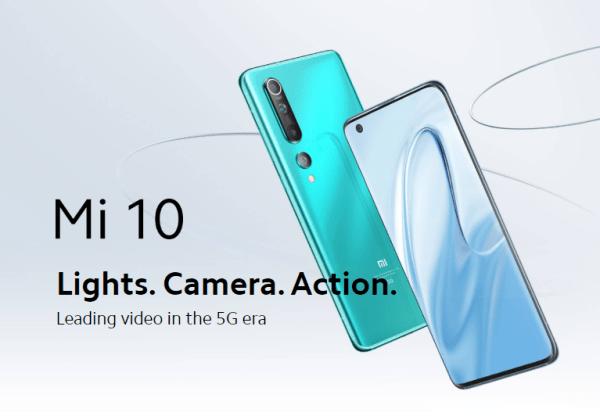 Xiaomi Mi 10とXiaomi Mi 10 Proのスペック比較と割引クーポンまとめ
