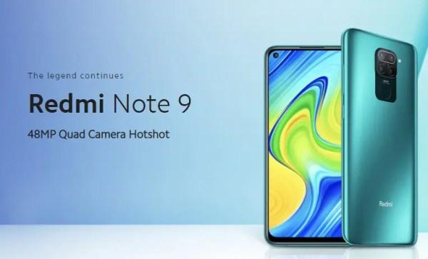 Xiaomi redmi note 9 のスペックレビュー