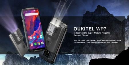 世界初・赤外線ナイトビジョンカメラを内蔵したタフネススマホ『OUKITEL WP7』が発売!