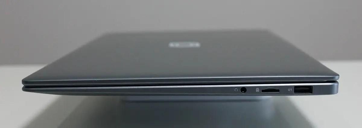 Jumper EZbook S5 レビュー 拡張性のある豊富なポートを搭載
