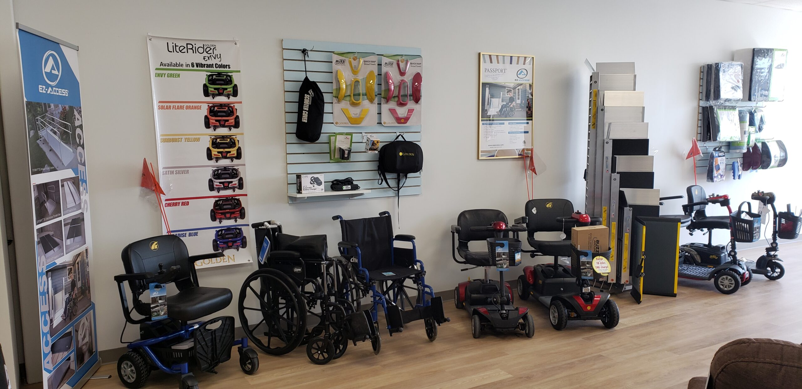 My Mobility offers an array of power wheelchairs and power mobility products.
