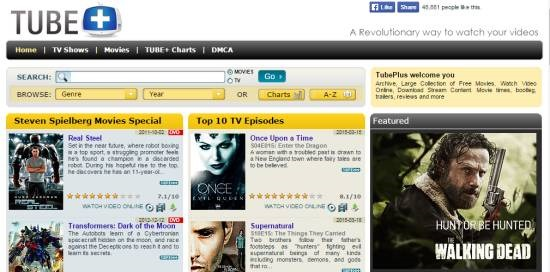 Tube+ -watch free movies online
