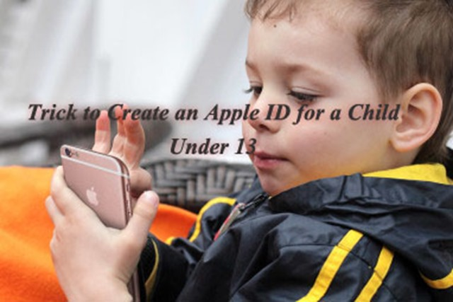 Trick to Create an Apple ID for a Child Under 13