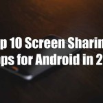 Top 10 Best Screen Sharing Apps for Android in 2018