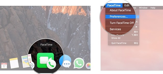 set your location in FaceTime 1