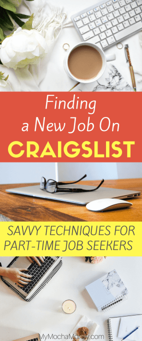Finding a New Job on Craigslist for Part-Time Job Seekers