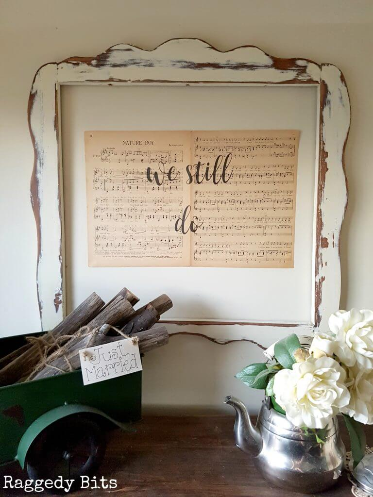 DIY Project Ideas to Make and Sell - Music Sheet Wall Art
