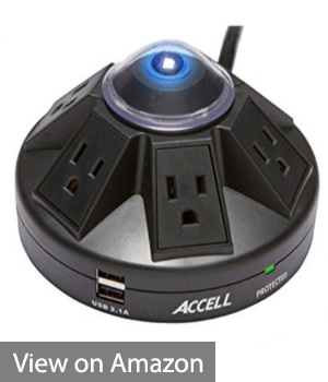 Accell Poweramid - Best Portable Surge Protector