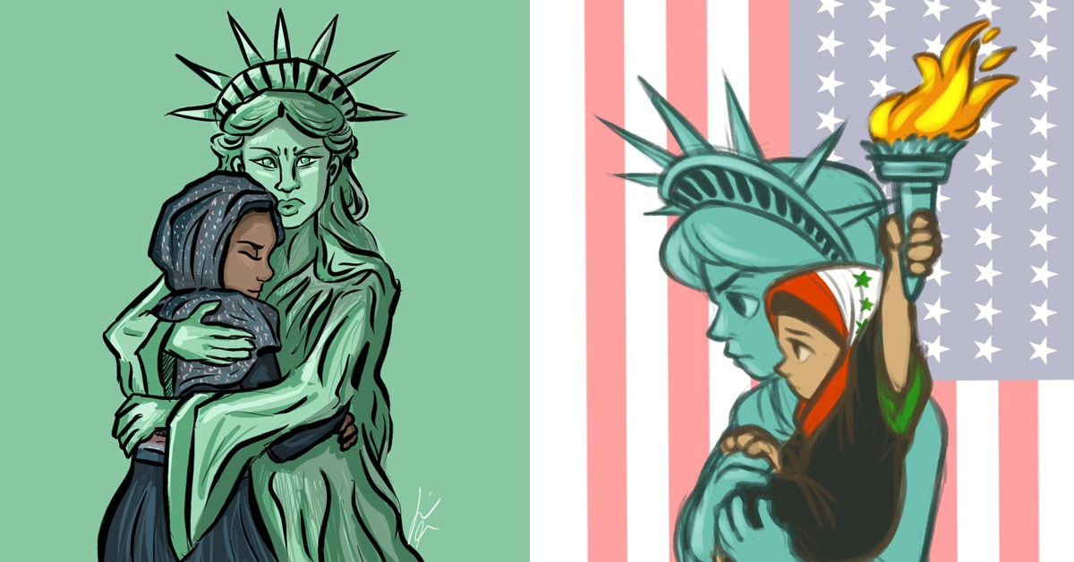 14 Artists React To Refugee Ban With Compassionate
