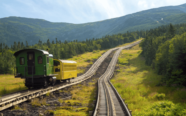 Train Photos Show the Vessels Roaring Through Picturesque Landscapes
