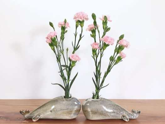 whale animal air plant vases Yoshiko Kozawa studio giverny etsy plants