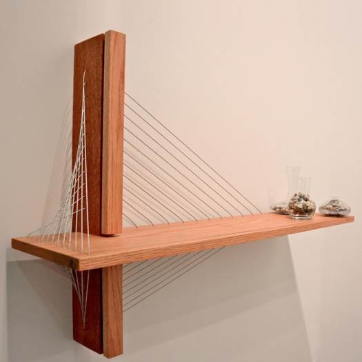 Architectural Shelf by Robby Cuthbert modern furniture