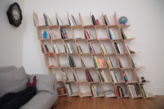 unique bookcases creative bookshelves books design optical illusion