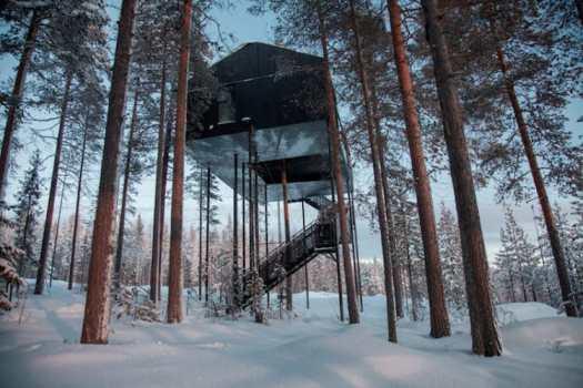 treehouses for grown-ups snohetta treehotel