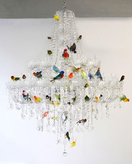 nature-inspired furniture chandelier sebastian errazuriz