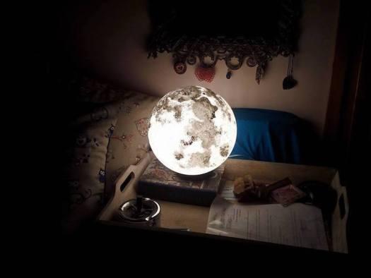 nature-inspired furniture pulsar moonlight lamp lighting