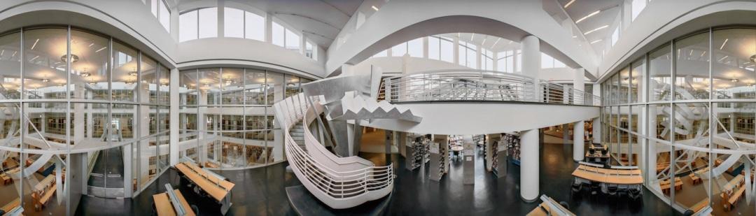 panoramas of american libraries