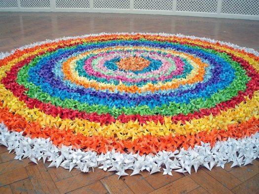 james roper paper art installation