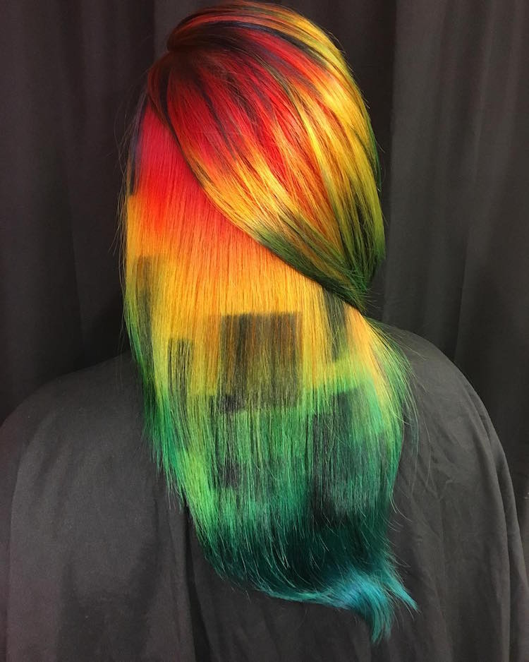 Hair Art By Ursula Goff Showcases Stylists Artistic Skill